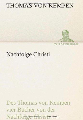 Nachfolge Christi 9783842418370