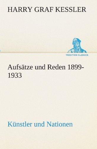 Aufs Tze Und Reden 1899-1933 9783842419247