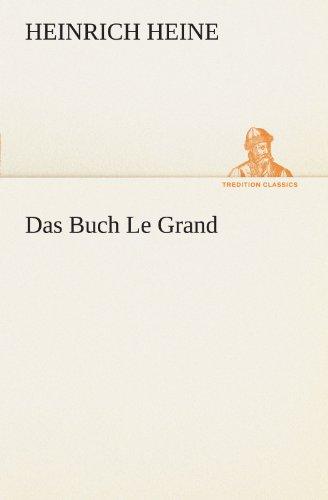 Das Buch Le Grand 9783842490444