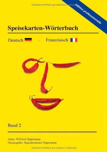 Speisekarten - W Rterbuch Dition Professionnelle 9783844824117