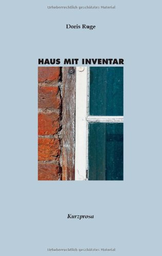 Haus Mit Inventar 9783844852646