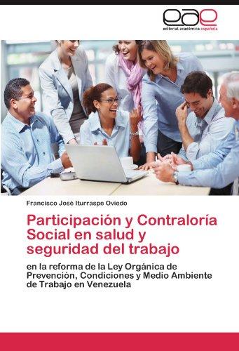 Participaci N y Contralor a Social En Salud y Seguridad del Trabajo 9783846565346