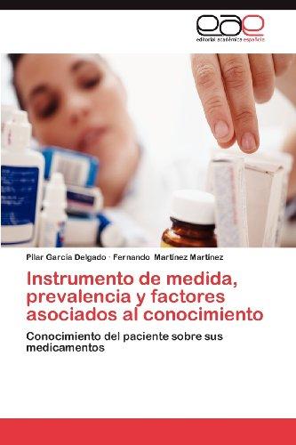 Instrumento de Medida, Prevalencia y Factores Asociados Al Conocimiento 9783846568026