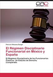 El R Gimen Disciplinario Funcionarial En M Xico y Espa a 18823577