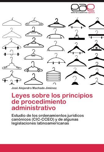 Leyes Sobre Los Principios de Procedimiento Administrativo 9783846571910