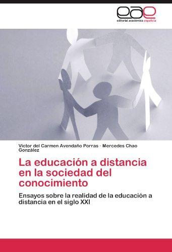 La Educaci N a Distancia En La Sociedad del Conocimiento 9783847351191