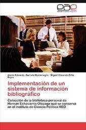 Implementaci N de Un Sistema de Informaci N Bibliogr Fico 19195257