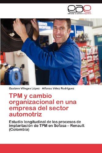 TPM Y CAMBIO ORGANIZACIONAL EN UNA EMPRE
