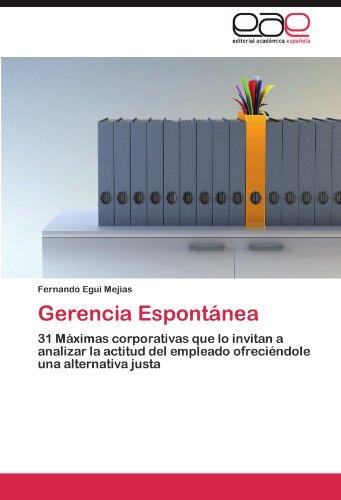 Gerencia Espont NEA 9783847366164