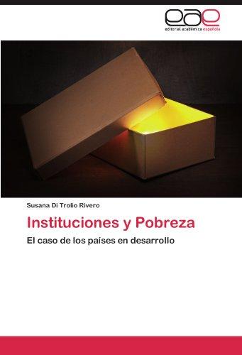 Instituciones y Pobreza 9783847368427