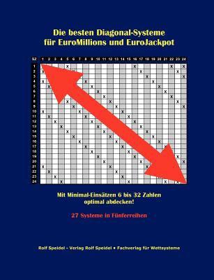 Die Besten Diagonal-Systeme F R Euromillions Und Eurojackpot 9783848203451