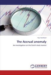 The Accrual Anomaly 18371453