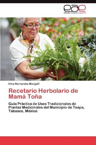 Recetario Herbolario de Mam to a 9783848450152