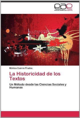 La Historicidad de Los Textos 9783848453832