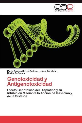 Genotoxicidad y Antigenotoxicidad 9783848462254