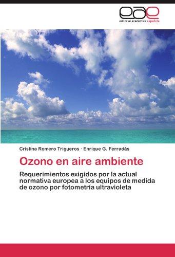 Ozono En Aire Ambiente 9783848464548