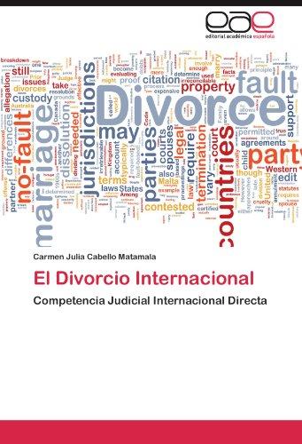 El Divorcio Internacional 9783848465361