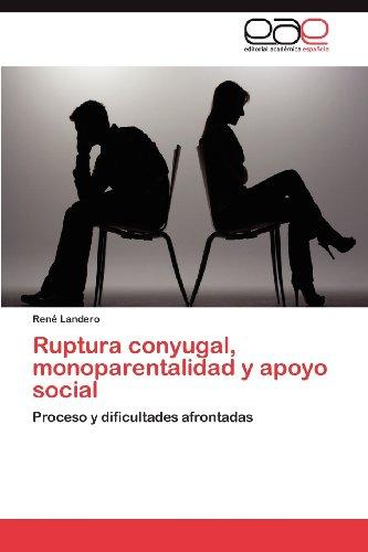 Ruptura Conyugal, Monoparentalidad y Apoyo Social 9783848475360