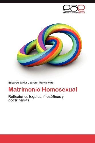 Matrimonio Homosexual 9783848477623