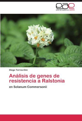An Lisis de Genes de Resistencia a Ralstonia 9783846574508