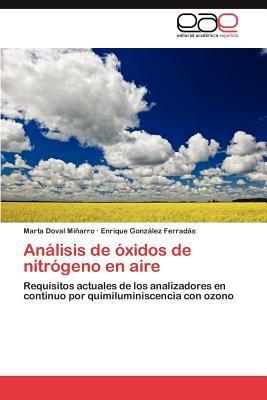 An Lisis de Xidos de Nitr Geno En Aire 9783844336436