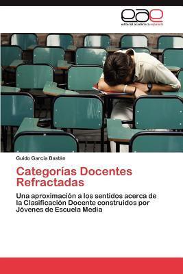 Categor as Docentes Refractadas 9783848451067