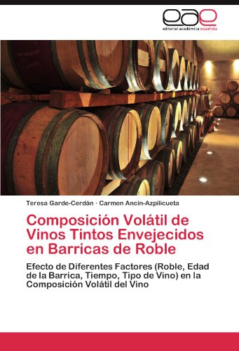 Composici N Vol Til de Vinos Tintos Envejecidos En Barricas de Roble 9783845486246