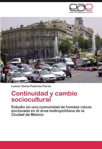Continuidad y Cambio Sociocultural 9783845484792