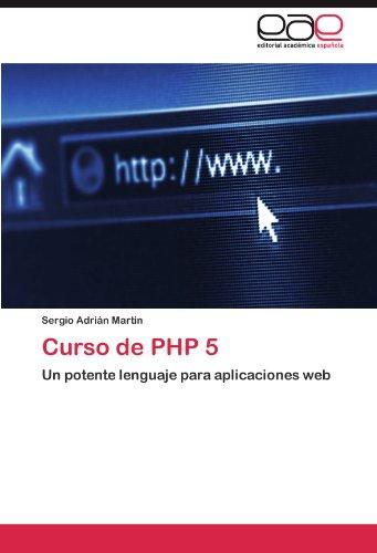 Curso de PHP 5 9783846568767