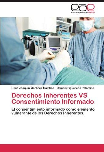 Derechos Inherentes Vs Consentimiento Informado 9783847354918