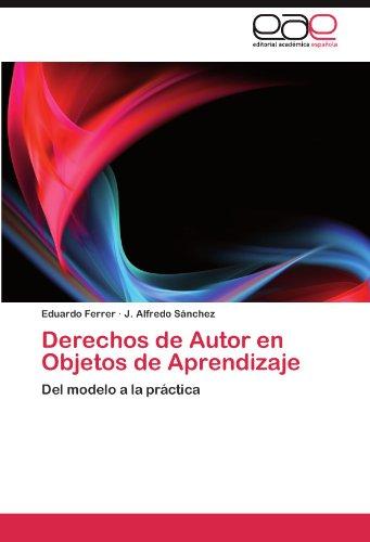 Derechos de Autor En Objetos de Aprendizaje 9783845481586