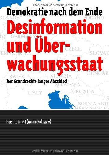 Desinformation Und Berwachungsstaat 9783842372764