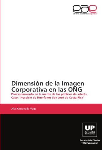 Dimensi N de La Imagen Corporativa En Las Ong 9783846579763