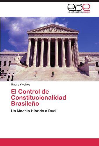 El Control de Constitucionalidad Brasile O 9783847350408