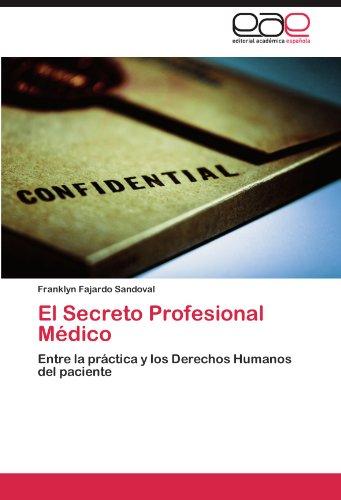 El Secreto Profesional M Dico 9783846568798