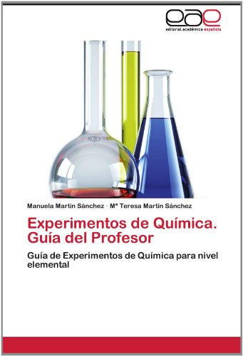Experimentos de Qu Mica. Gu a del Profesor 9783848478699