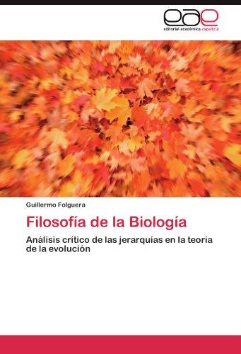 Filosof a de La Biolog a 9783845492018