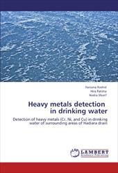 Heavy Metals Detection in Drinking Water 18131850