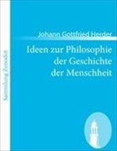 Ideen Zur Philosophie Der Geschichte Der Menschheit 18266754