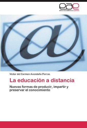 La Educaci N a Distancia 9783845492940