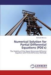 Numerical Solution for Partial Differential Equations (Pde's) 17628731