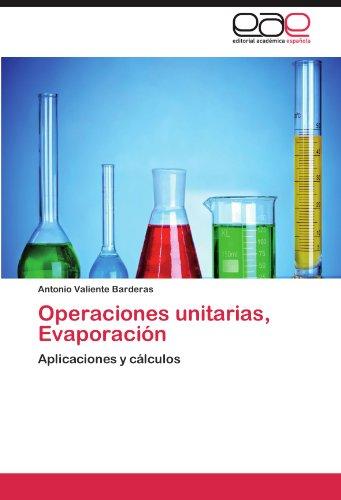 Operaciones Unitarias, Evaporaci N 9783847352044