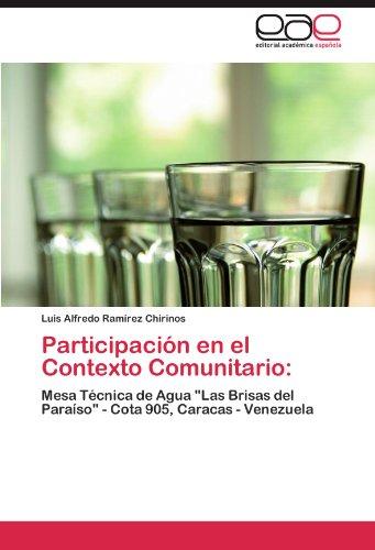 Participaci N En El Contexto Comunitario 9783846566213