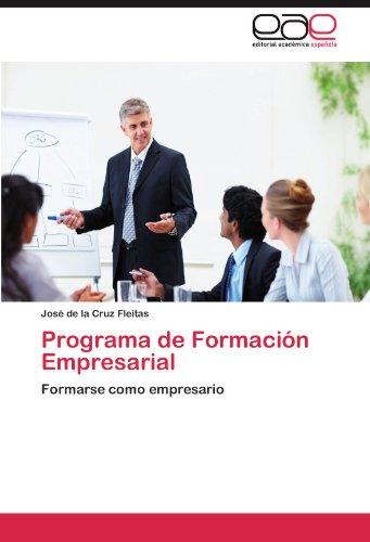 Programa de Formaci N Empresarial 9783847363637