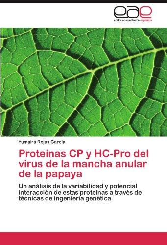 Prote NAS Cp y Hc-Pro del Virus de La Mancha Anular de La Papaya 9783845499871