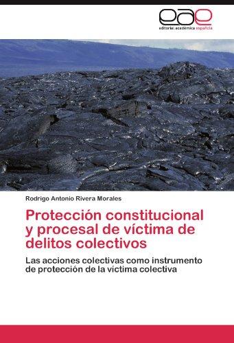 Protecci N Constitucional y Procesal de V Ctima de Delitos Colectivos 9783845491196