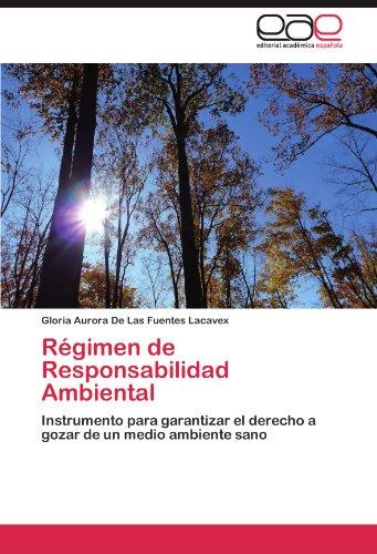 R Gimen de Responsabilidad Ambiental 9783846574591