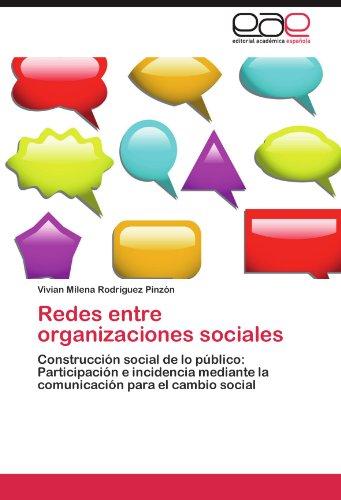 Redes Entre Organizaciones Sociales 9783845490526