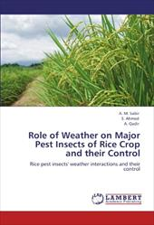 Role of Weather on Major Pest Insects of Rice Crop and Their Control 17629076