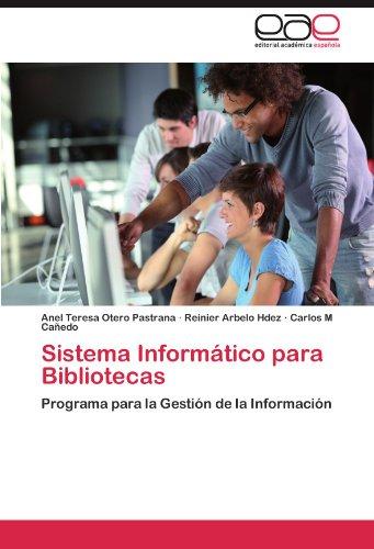 Sistema Inform?tico Para Bibliotecas 9783847355731